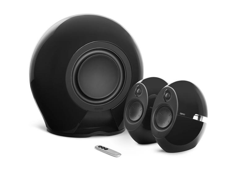 EDIFIER e235 2.1聲道藍牙音箱黑色