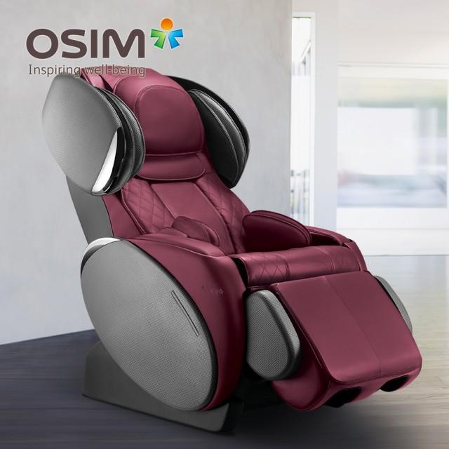 【U】OSIM - uMagic 摩法椅(型號OS-858) - 耀眼紅