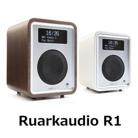 Ruark Audio R1 桌上型藍牙喇叭 典雅英倫風白色