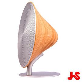 JS JY1007 桌上型藍牙音箱原木色