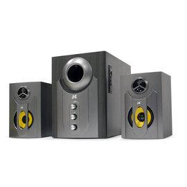 JS JY3002BT 藍牙無線喇叭 三件式木質音箱