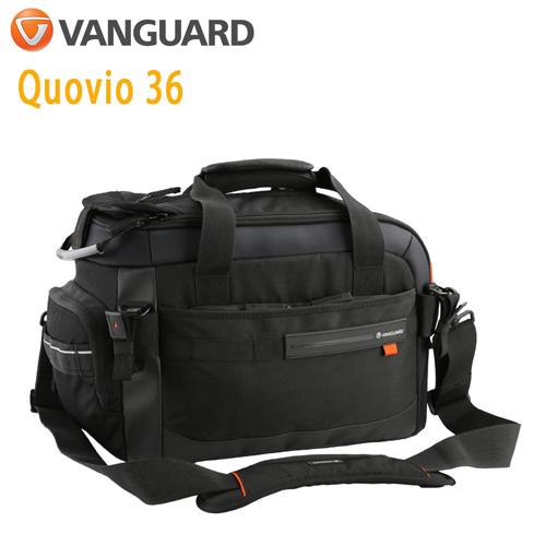 VANGUARD 精嘉 Quovio 闊影者 36 攝影側背包(公司貨)黑