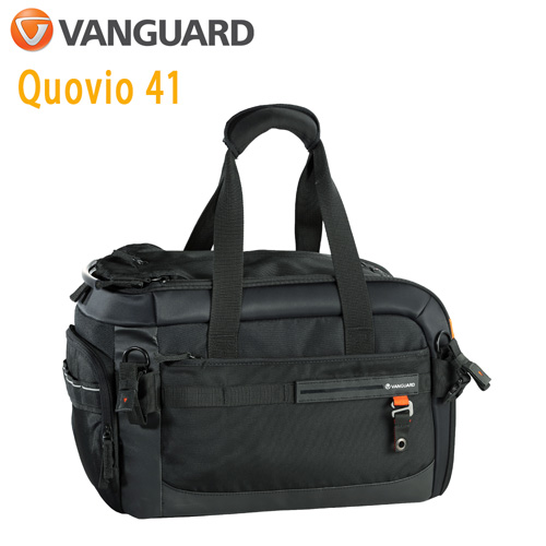VANGUARD 精嘉 Quovio 闊影者 41 攝影側背包(公司貨)黑