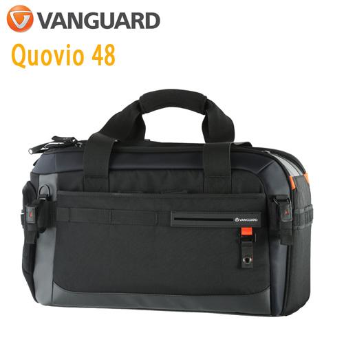 VANGUARD 精嘉 Quovio 闊影者 48 攝影長鏡頭雙肩單肩包(公司貨)黑