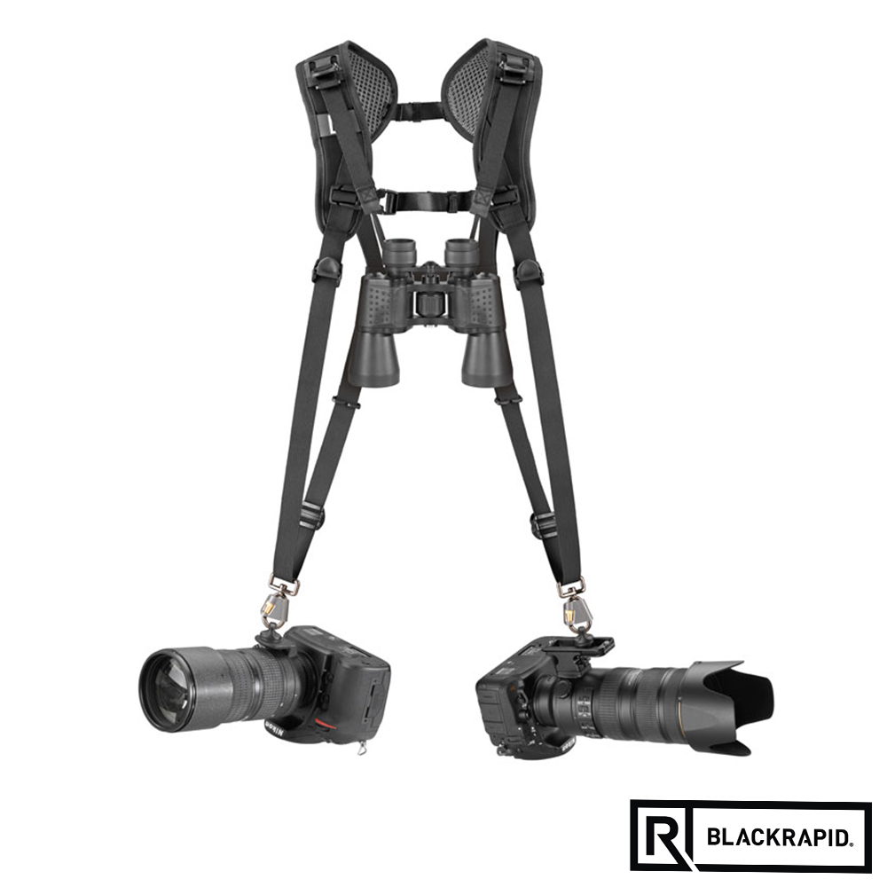 BLACKRAPID 輕觸微風DOUBLE雙槍俠快速雙肩背帶(361003)