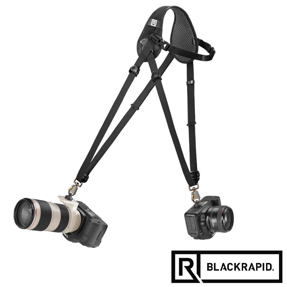 BLACKRAPID 雙槍俠HYBRID輕觸微風 人字快速背帶(361009)