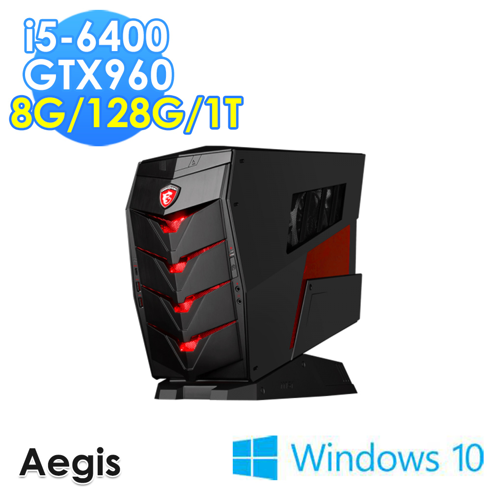msi微星 Aegis-094TW i5-6400 GTX960 WIN10 電競桌機