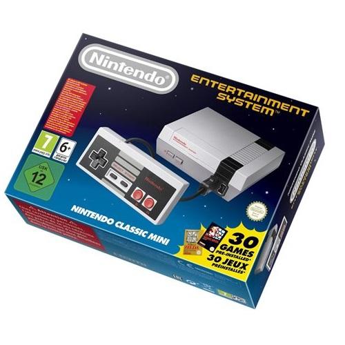 Nintendo NES Mini 任天堂 灰白機 (內建30款經典遊戲懷舊款)