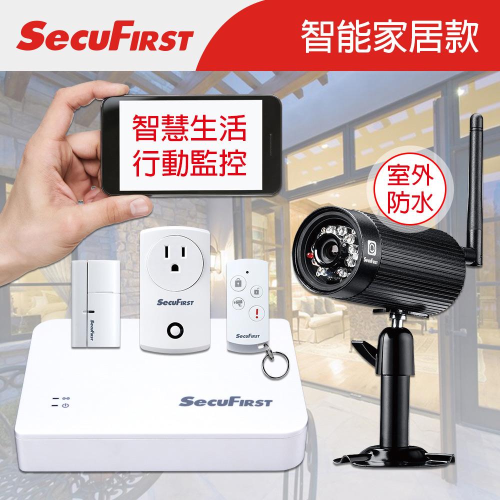 SecuFirst 智能家居行動監控室內組合包 SHC-GA11+WP-H01S