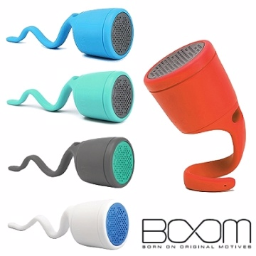 BOOM Swimmer Speaker 攜帶型造型藍芽喇叭(白)