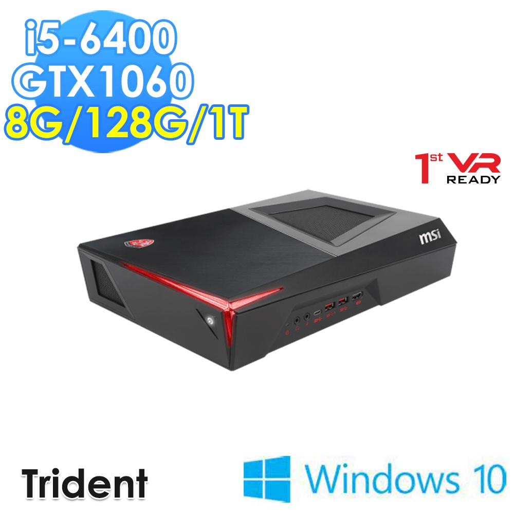 msi微星 Trident-011TW i5-6400 GTX1060 WIN10 電競桌機