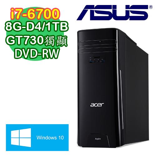 ACER宏碁 TC-780 Intel i7-67000四核 2G獨顯 Win10電腦 (TC-780EE068)