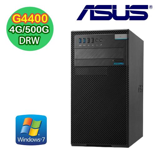 ASUS華碩 D520MT Intel G4400 雙核 4G/500G/RW/WIN7 商用文書機