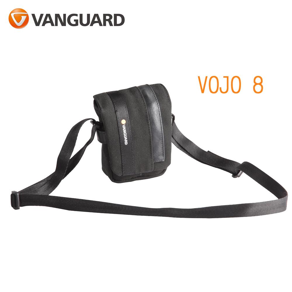 VANGUARD 精嘉 Vojo 旅行者 8 攝影微單眼側背包(公司貨)黑