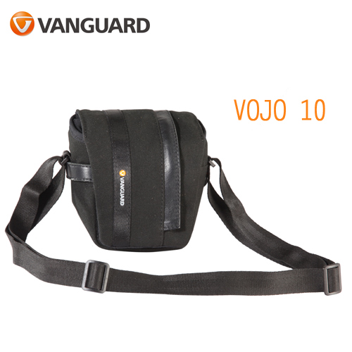 VANGUARD 精嘉 Vojo 旅行者 10 攝影微單眼側背包(公司貨)黑