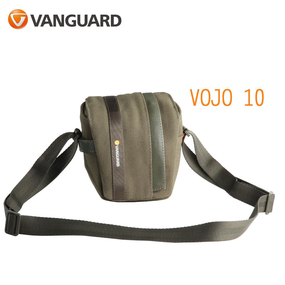 VANGUARD 精嘉 Vojo 旅行者 10 攝影微單眼側背包(公司貨)墨綠