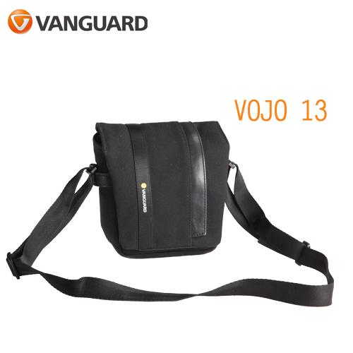 VANGUARD 精嘉 Vojo 旅行者 13 攝影微單眼側背包(公司貨)黑