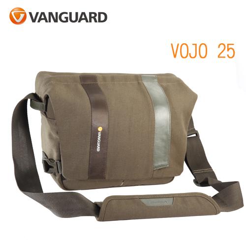 VANGUARD 精嘉 Vojo 旅行者 25 攝影側背包(公司貨)綠