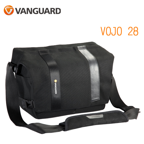 VANGUARD 精嘉 Vojo 旅行者 28 攝影側背包(公司貨)黑