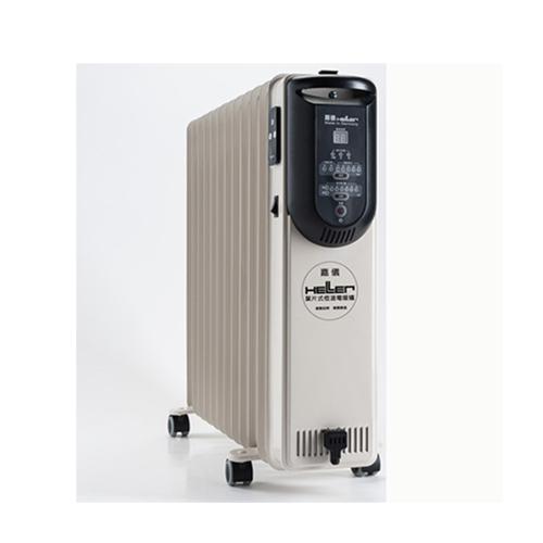 德國HELLER嘉儀12葉片式微電腦遙控電暖器KED512T