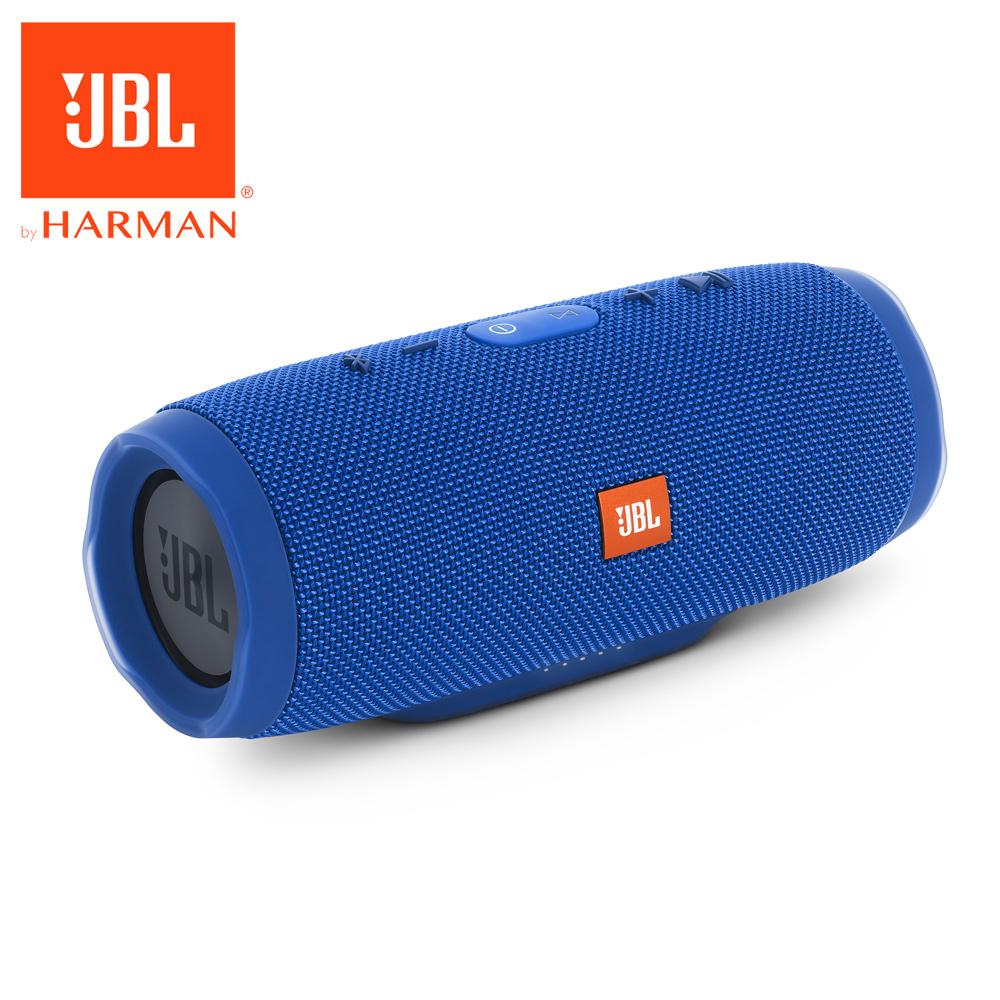 JBL Charge 3 防水攜帶式藍牙喇叭藍色