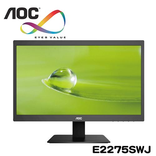 AOC艾德蒙 E2275SWJ 22型綠能寬螢幕