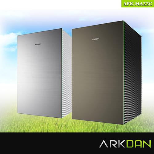 【阿沺ARKDAN】日本限量大師款空氣清淨機 APK-MA22C白銀色