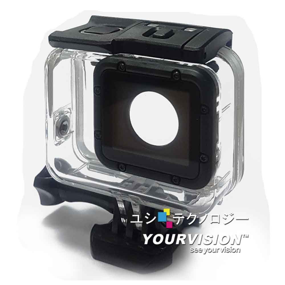 GoPro HERO 5 副廠 雙效防水殼 防水保護殼(附可觸控背板及活動基座)