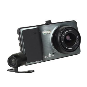 錄得清 眼界S FHD1080P 雙鏡頭行車紀錄器 倒車顯影 (送32G Class10記憶卡+免費基本安裝)