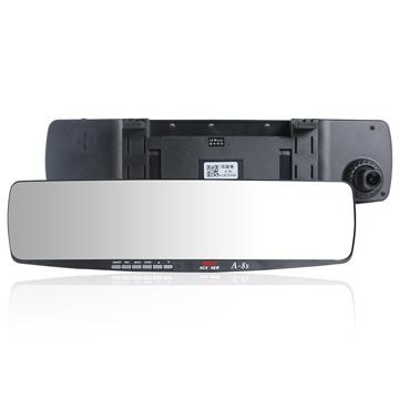 掃描者 A-8S 後視鏡行車記錄器 GPS測速器 (送8G Class10記憶卡+免費基本安裝)