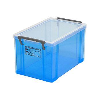 《冰磚》透明收納整理盒(3.7L)6入