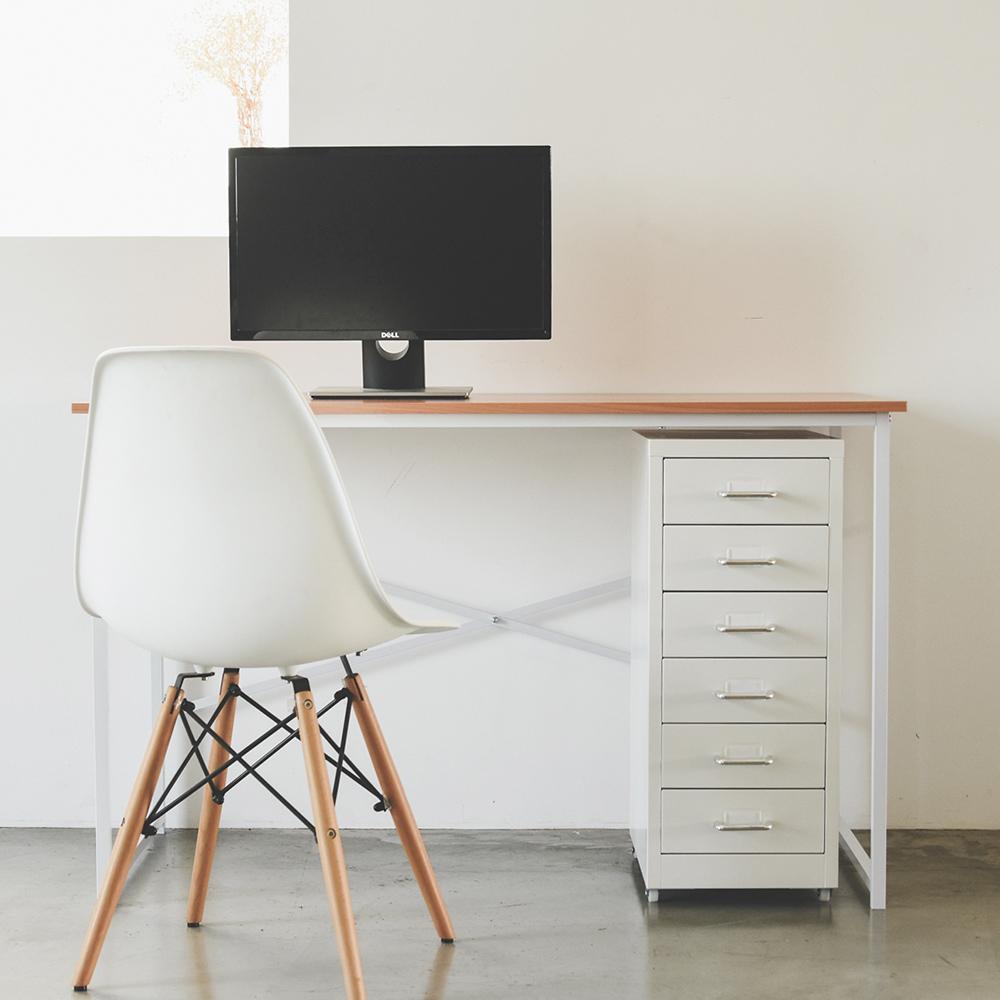 Peachy Life 工作桌櫃組/活動櫃/公文櫃/檔案櫃/電腦桌(2色可選)白色