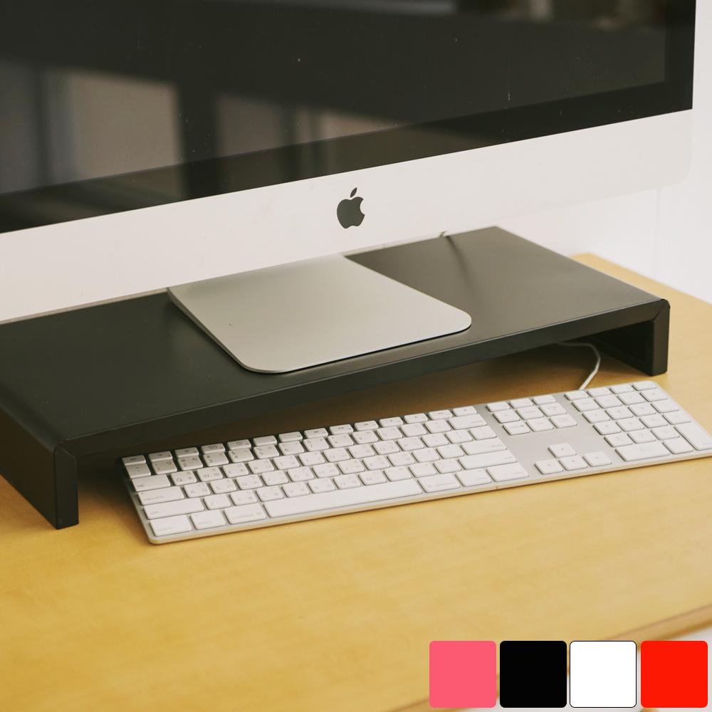 Peachy Life 簡約高質感螢幕架(4色可選)黑色