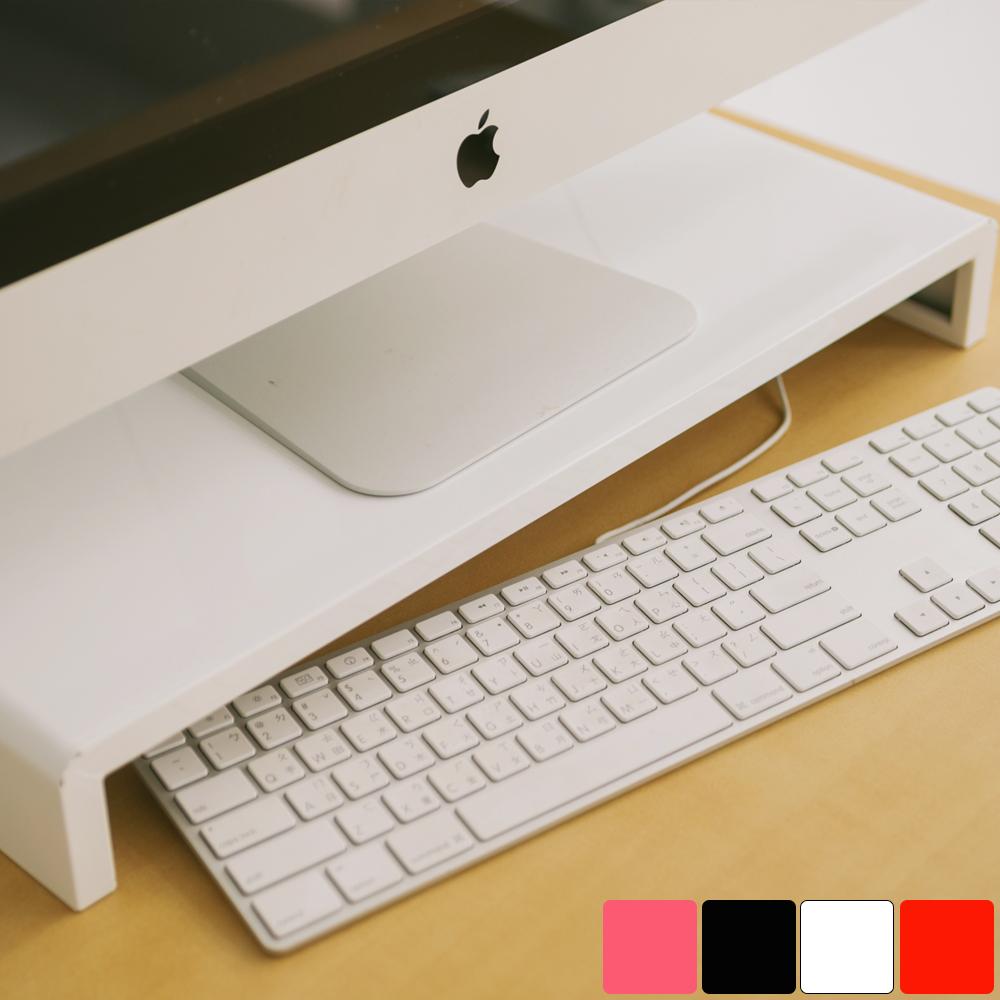 Peachy Life 簡約高質感螢幕架(4色可選)白色