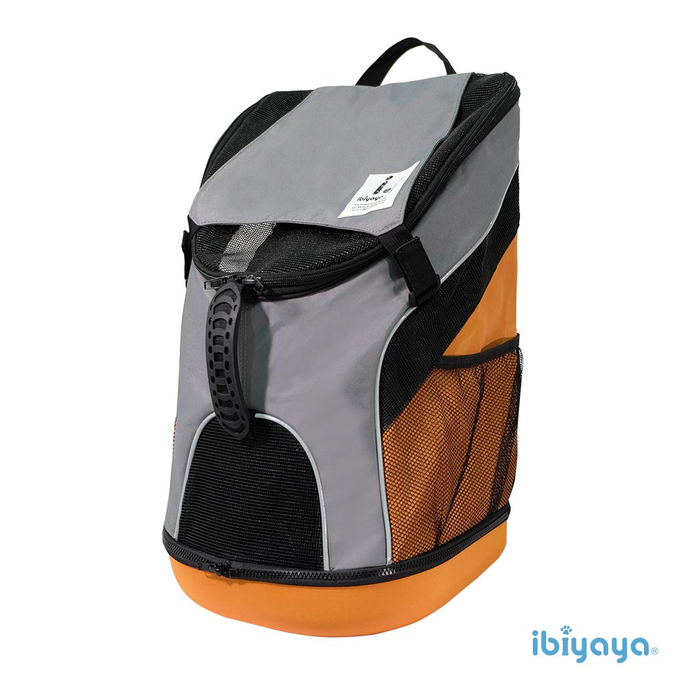 【IBIYAYA依比呀呀】FC1606極限輕量寵物後背包-竹炭灰