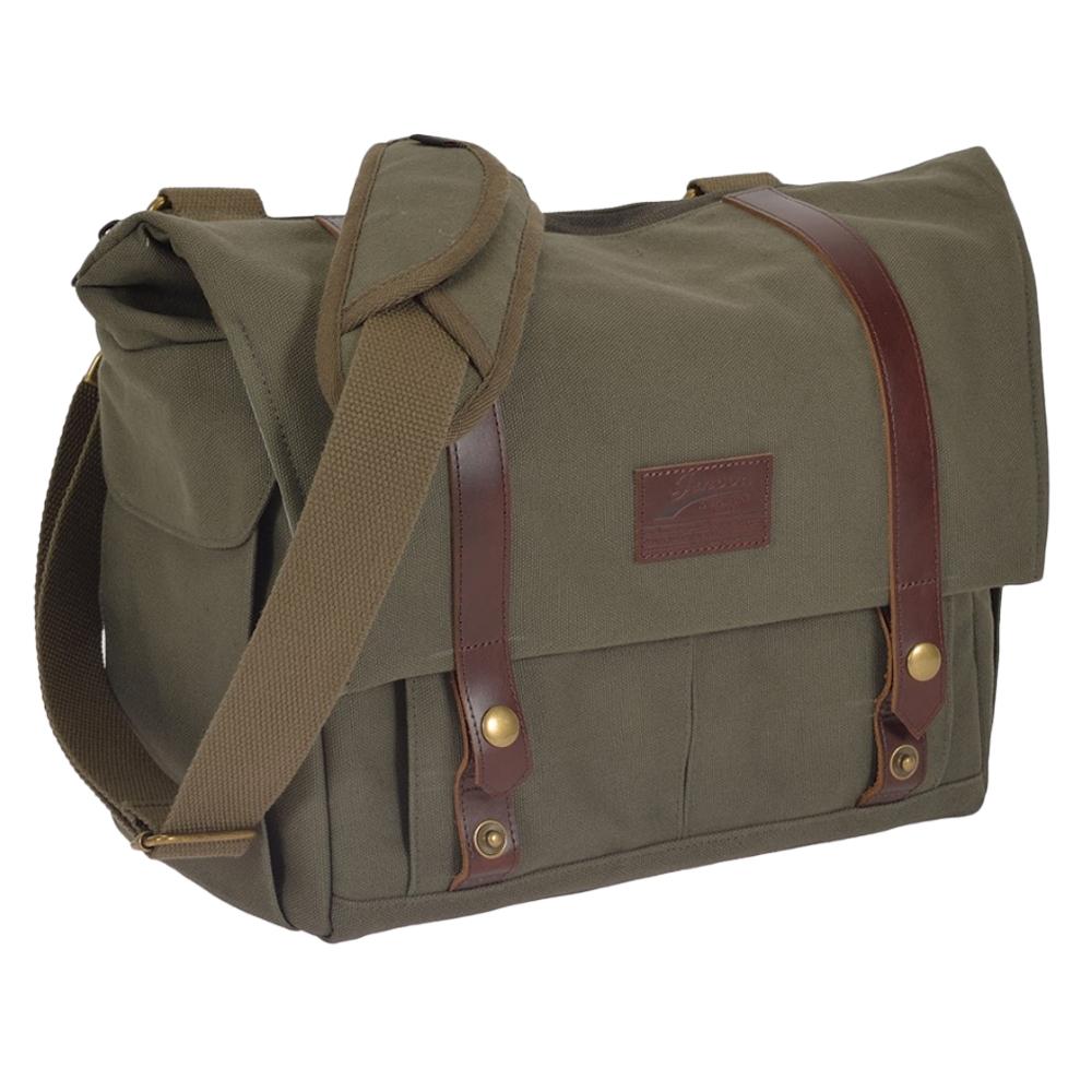 吉尼佛 JENOVA ROAMING 83 都市漫遊者系列 側背包 (大)/綠色