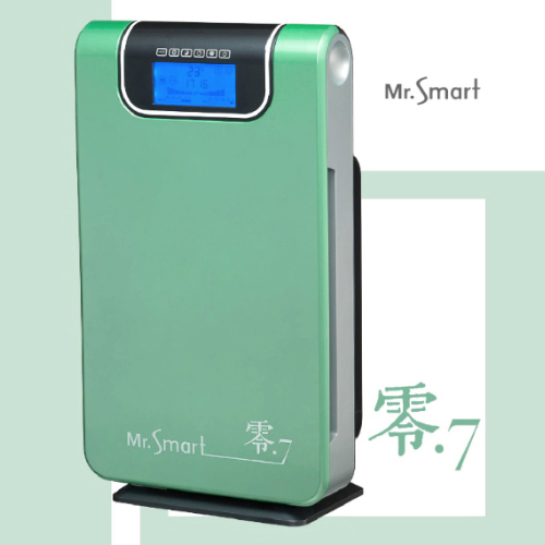 Mr.Smart 零.7空氣清淨機文青草綠