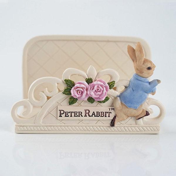 【U】Peter Rabbit 比得兔 - 比得兔玫瑰名片座 - 白色