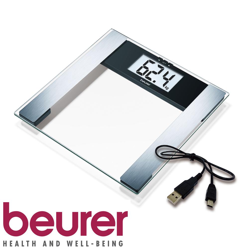 德國博依beurer-電腦傳輸體脂計BF480 (透明色)
