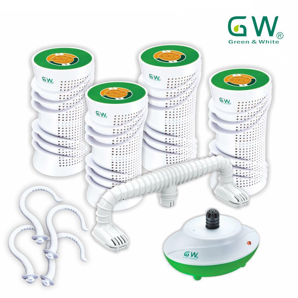 GW水玻璃分離式除濕機特惠組六件組((附掛勾))