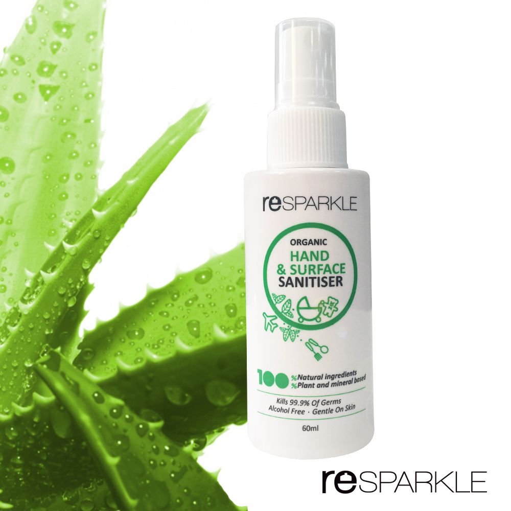 【澳洲reSPARKLE】綠思寶-隨身免沖洗抗菌噴霧(乾洗手)