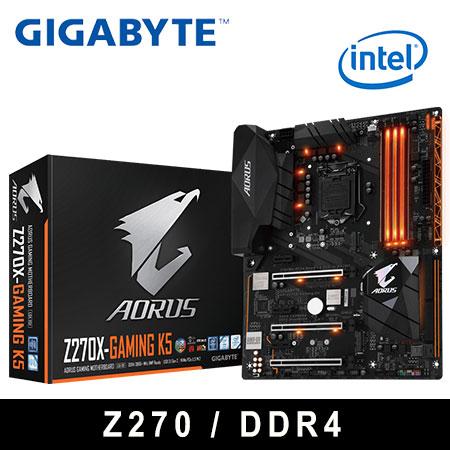 GIGABYTE 技嘉 GA-Z270X-Gaming K5 主機板