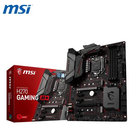 MSI 微星 H270 GAMING M3 主機板