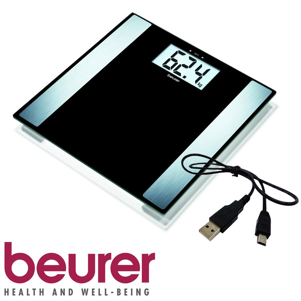 德國博依beurer-電腦傳輸體脂計BF480(黑色)