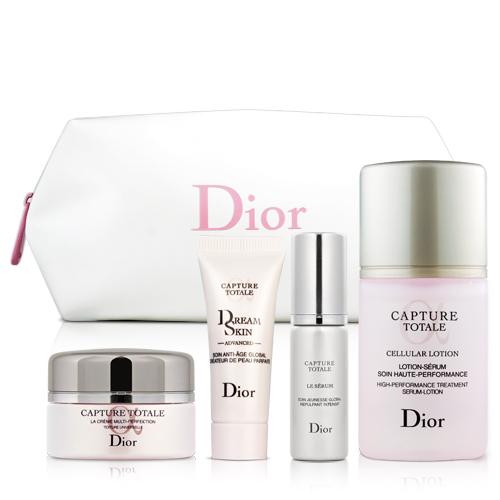 Dior迪奧 逆時完美再造保養5件組