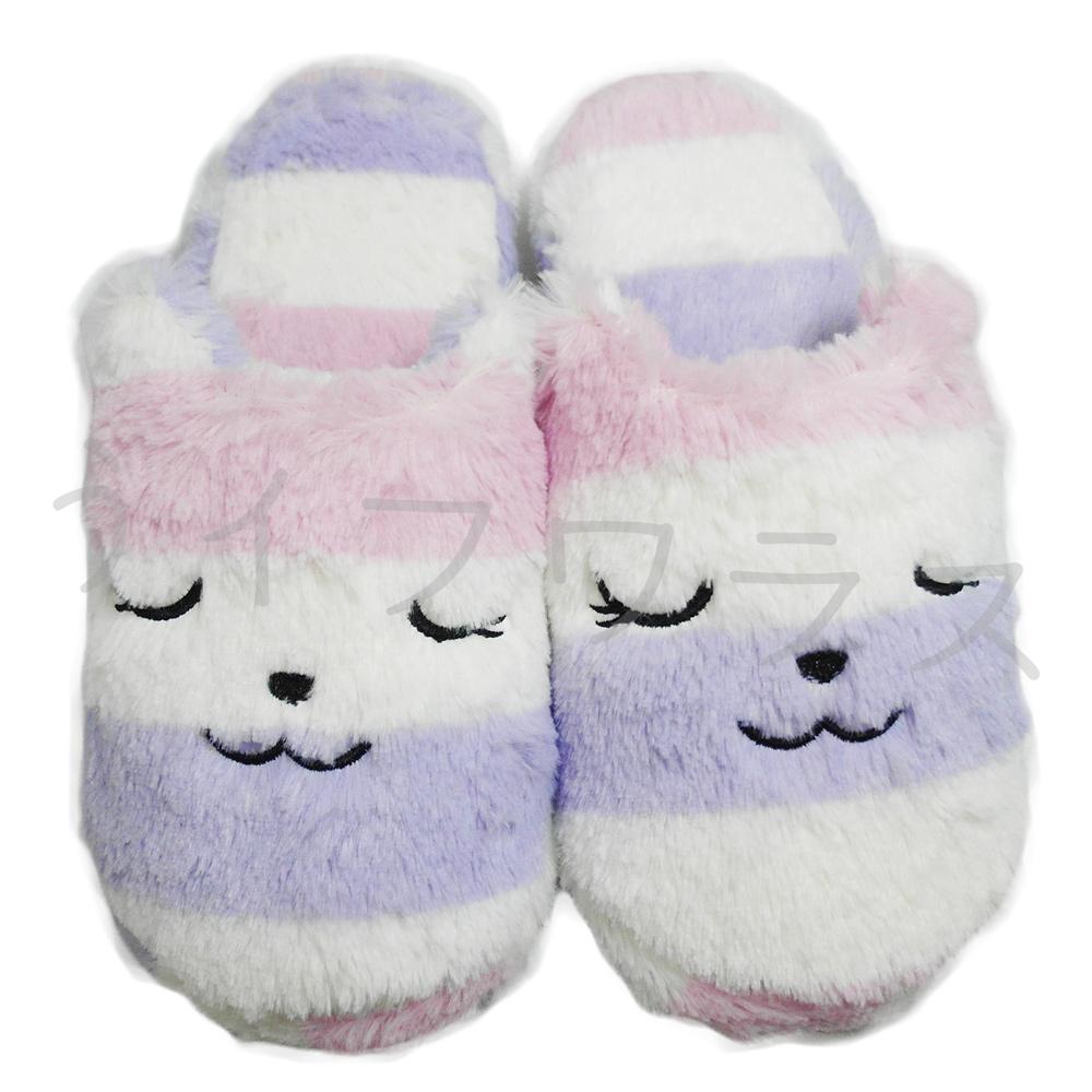 菲比貓室內拖-女-紫色-3雙入