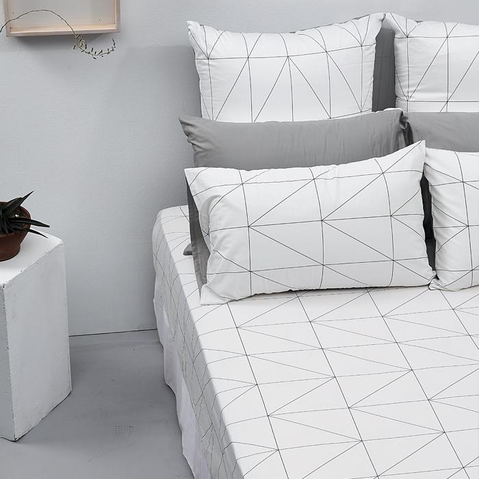 LITA麗塔【旅人】雙人床包枕套三件組