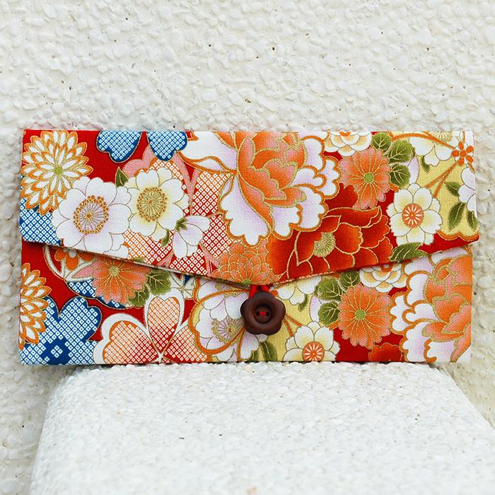 布風手作|富貴牡丹花紅包袋