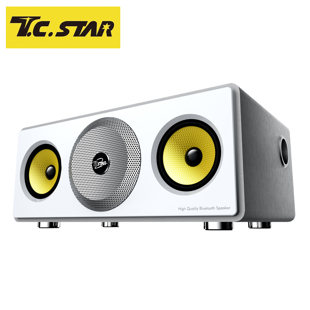 T.C.STAR 多功能藍牙喇叭 TCS3000銀色