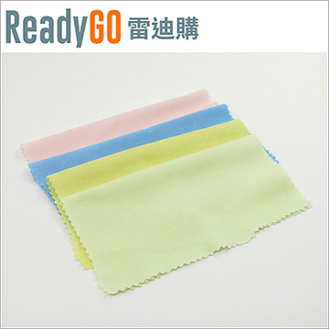 【ReadyGO雷迪購】超實用眼鏡配件必備超細纖維擦拭布14cm*14cm【2入裝】(藍色款)